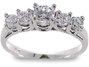 Prong Round Diamond Engagement Ring